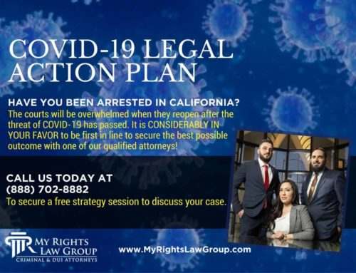 My Rights Law Group: COVID-19 Pandemic Helping Criminal Cases in California